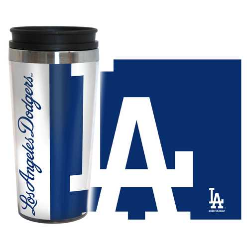 Los Angeles Dodgers Travel Mug 14oz Full Wrap Style Hype Design
