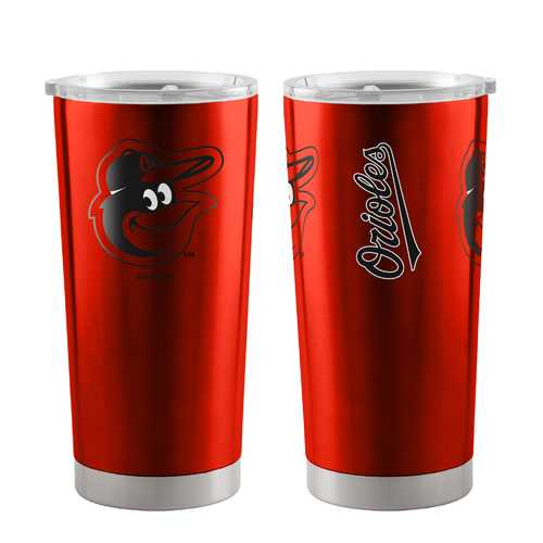 Baltimore Orioles Travel Tumbler 20oz Ultra Orange