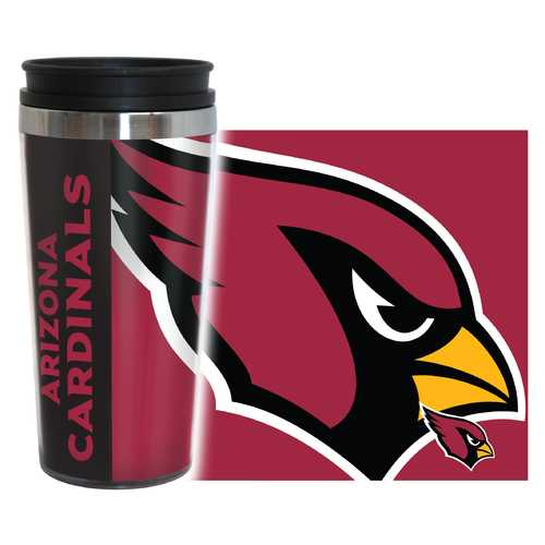 Arizona Cardinals Travel Mug 14oz Full Wrap Style Hype Design