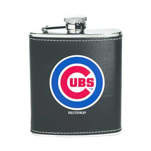 Chicago Cubs Flask Stainless Steel