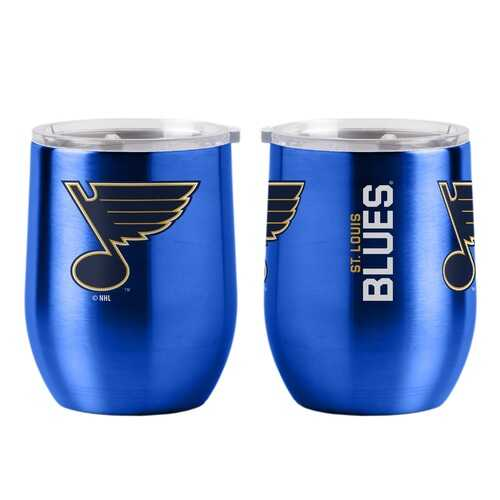 St. Louis Blues Travel Tumbler 16oz Ultra Curved Beverage - Special Order