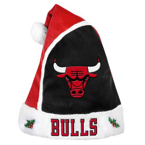 Chicago Bulls Basic Santa Hat - 2015