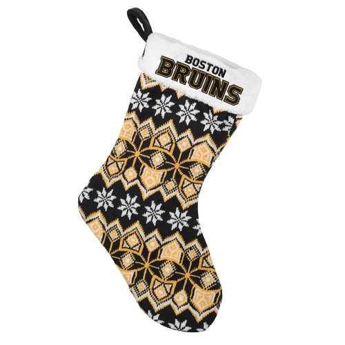 Boston Bruins Knit Holiday Stocking - 2015