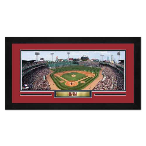 Boston Red Sox Print 13x7 Framed Fenway Park Design Special Order