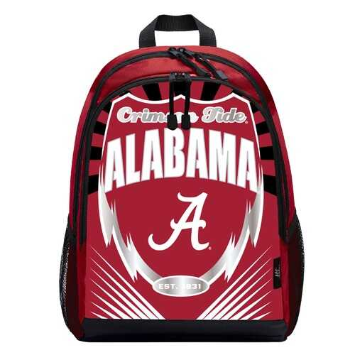 Alabama Crimson Tide Backpack Lightning Style Special Order