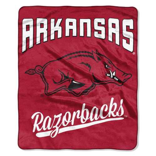 Arkansas Razorbacks Blanket 50x60 Raschel Alumni Design
