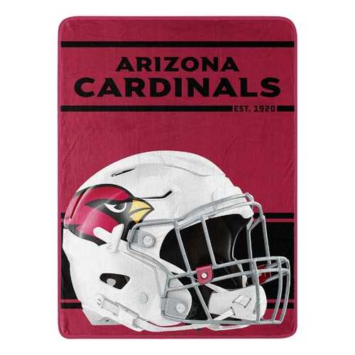 Arizona Cardinals Blanket 46x60 Micro Raschel Run Design Rolled