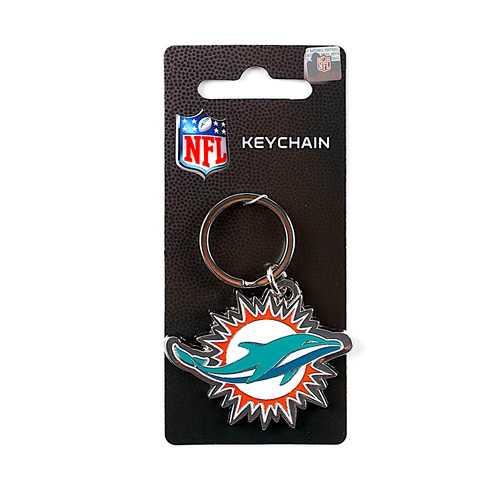 Miami Dolphins Keychain Team