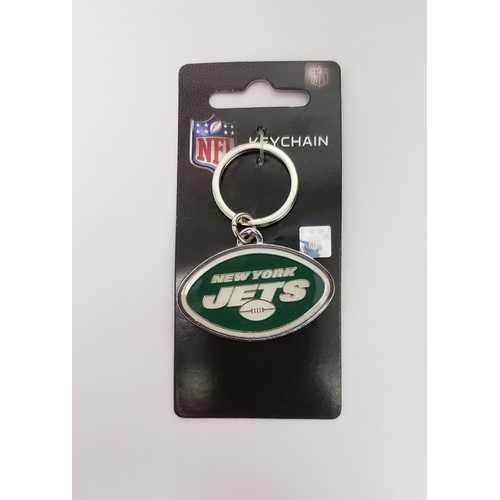 New York Jets Keychain Team