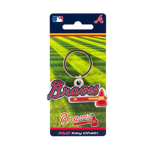 Atlanta Braves Keychain Team
