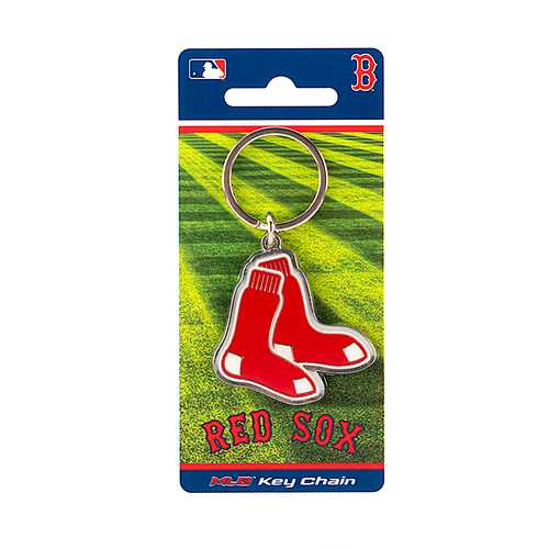 Boston Red Sox Keychain Team