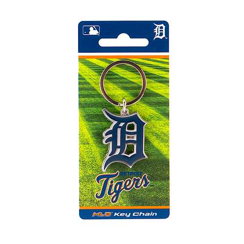 Detroit Tigers Keychain Team