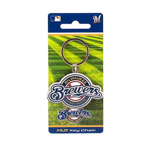 Milwaukee Brewers Keychain Team