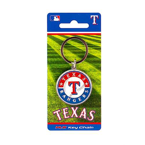 Texas Rangers Keychain Team