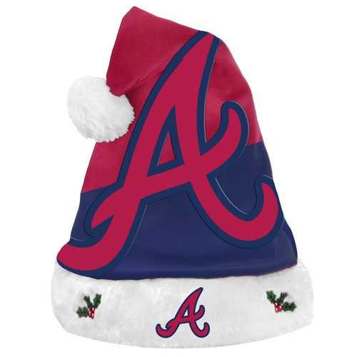Atlanta Braves Santa Hat Basic Design 2018
