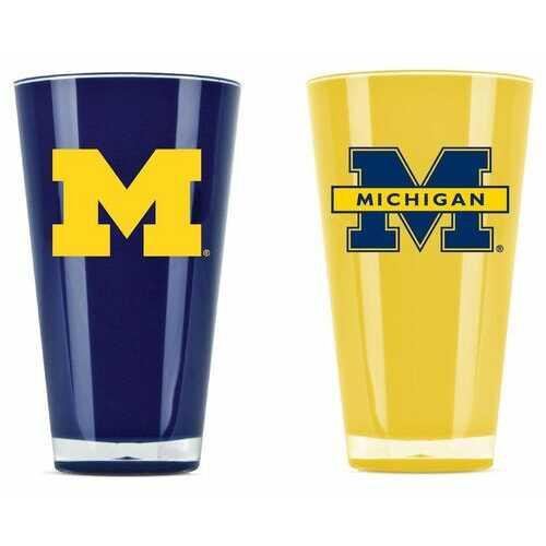 Michigan Wolverines Tumblers - Set of 2 (20 oz)