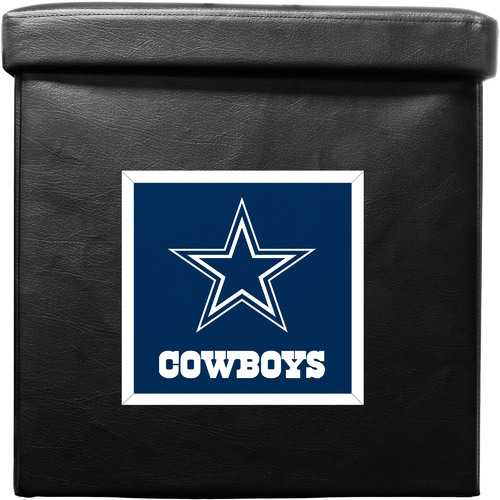 Dallas Cowboys Ottoman Foldable