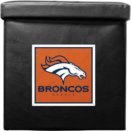 Denver Broncos Ottoman Foldable