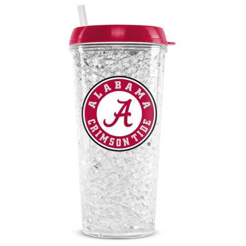 Alabama Crimson Tide Crystal Freezer Tumbler Special Order