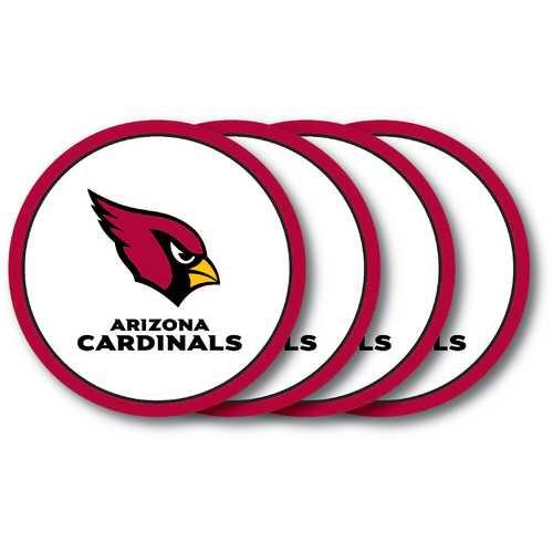 Arizona Cardinals Coaster 4 Pack Set