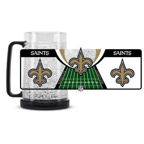 New Orleans Saints Crystal Freezer Mug