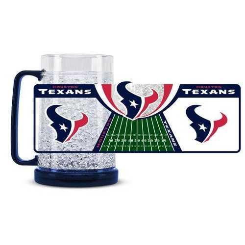 Houston Texans Crystal Freezer Mug