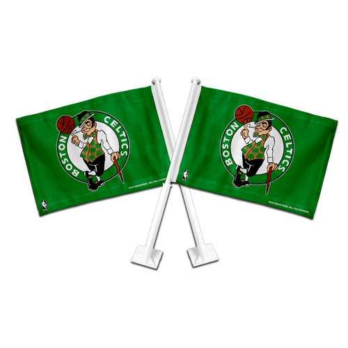 Boston Celtics Flag Car Style Special Order