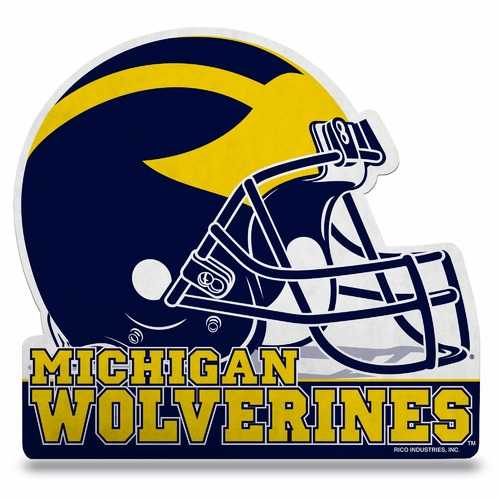 Michigan Wolverines Pennant Die Cut Carded Special Order