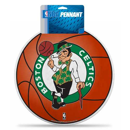 Boston Celtics Pennant Die Cut Carded Special Order