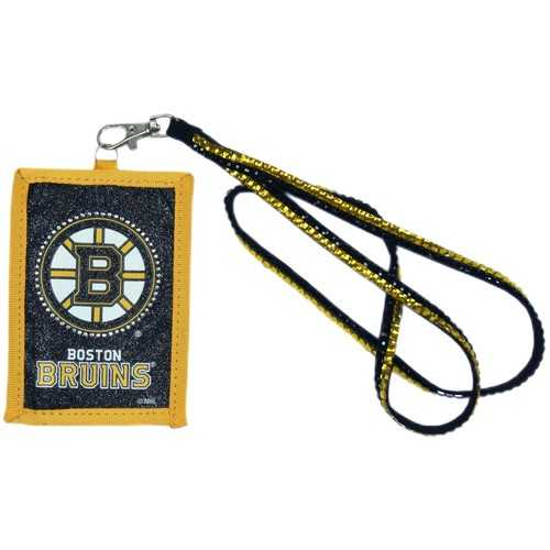 Boston Bruins Wallet Beaded Lanyard Style