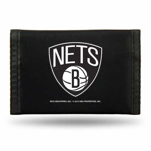 Brooklyn Nets Wallet Nylon Trifold Special Order