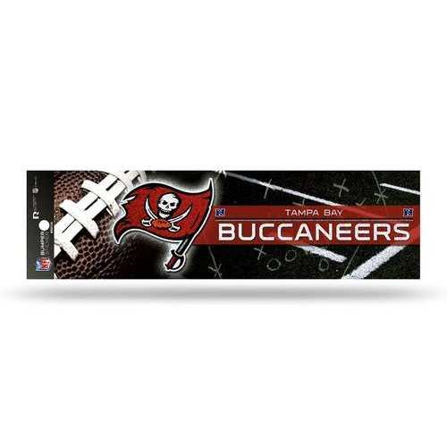 Tampa Bay Buccaneers Decal Bumper Sticker Glitter