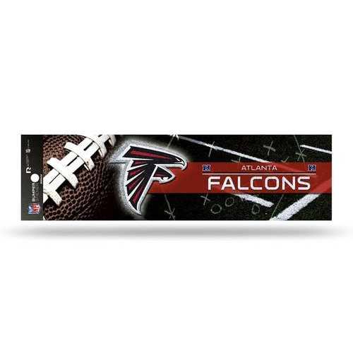 Atlanta Falcons Decal Bumper Sticker Glitter
