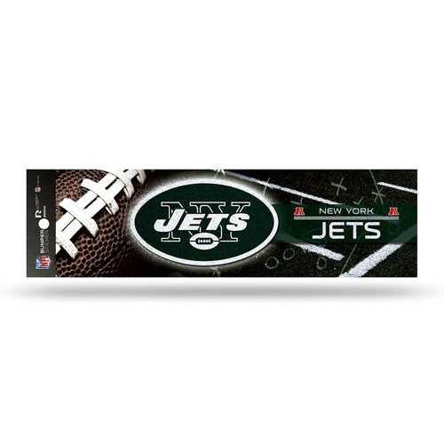 New York Jets Decal Bumper Sticker Glitter