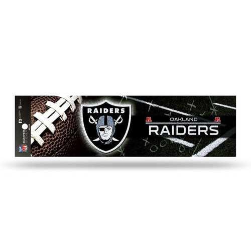 Oakland Raiders Decal Bumper Sticker Glitter
