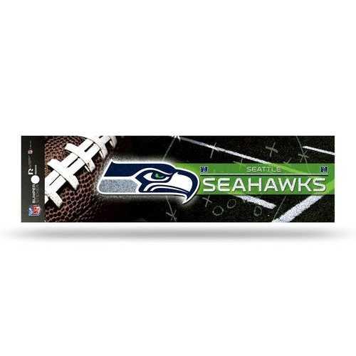 Seattle Seahawks Decal Bumper Sticker Glitter