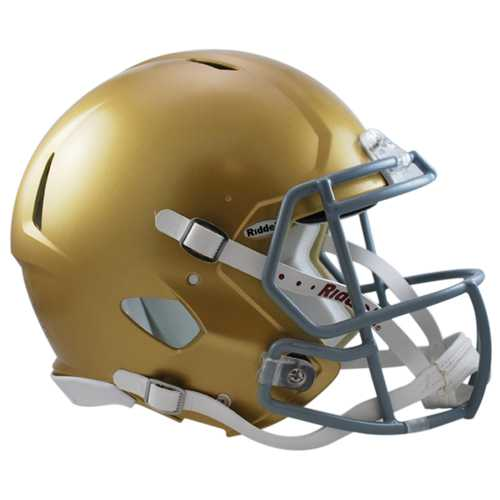 Notre Dame Fighting Irish Helmet - Riddell Authentic Full Size - Speed Style - 2016