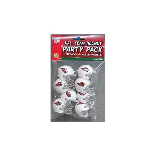 Arizona Cardinals Team Helmet Party Pack