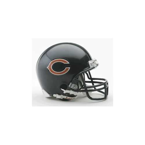 Chicago Bears Replica Mini Helmet w/ Z2B Face Mask