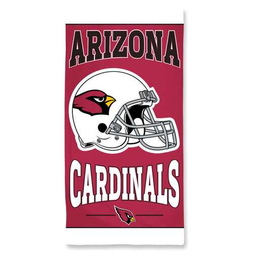 Arizona Cardinals Towel 30x60 Beach Style Special Order
