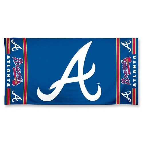 Atlanta Braves Towel 30x60 Beach Style Special Order