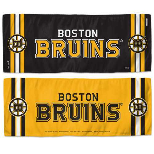 Boston Bruins Cooling Towel 12x30