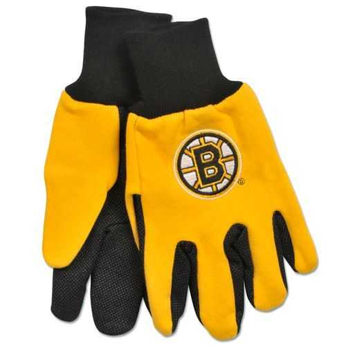 Boston Bruins Two Tone Gloves - Adult Special Order