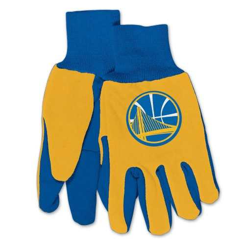 Golden State Warriors Two Tone Gloves - Adult