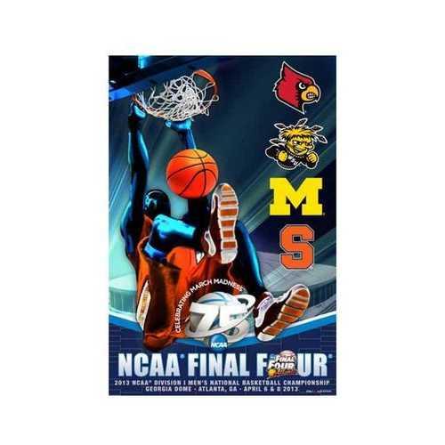 2013 NCAA Final Four Poster