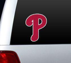 Philadelphia Phillies Die-Cut Window Film - Large