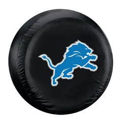 Category: Dropship Temporary Category, SKU #2324598447, Title: Detroit Lions Tire Cover Standard Size Black