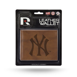 New York Yankees Wallet Billfold Leather Embossed Special Order