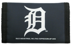 Detroit Tigers Wallet Nylon Trifold