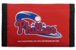 Philadelphia Phillies Wallet Nylon Trifold